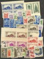 FRANCE: Lot Of Varied Cinderellas, Most Of Very Fine Quality, A Few Without Gum, Interesting! - Cinderellas