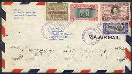 "GUATEMALA: Cover Sent To Argentina On 20/SE/1940, Postmarked ""AMBULANTE - LINEA - RIO BRAVO - TIQUISATE"", Excellent!"" - Guatemala"