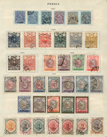 IRAN: Old Collection On Several Album Pages, Including Stamps And Sets Of Good Value, Fine To VF General Quality! ATTENT - Iran