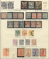 IRAN: Collection On Pages, With Mint (mostly Lightly Hinged And Few Without Gum In Earlier Issues, And MNH In Modern Iss - Iran