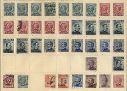 ITALY - COLONIES: Old Collection On Sheets, Including Interesting Stamps And Sets, Fine General Quality, Scott Catalog V - Italy