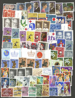LIECHTENSTEIN: Envelope Containing Very Thematic Stamps, Sets And Souvenir Sheets, Most Used And In General Of VF Qualit - Liechtenstein