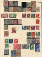 NORWAY: Collection On Pages (circa 1856 To 1980), Used Or Mint Stamps, Most Of Fine Quality, Including Many Good Values  - Norway
