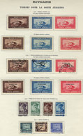 ROMANIA: Very Complete Collection In Album Pages, Including Many Good Sets And Scarce Stamps, Very Fine General Quality  - Romania