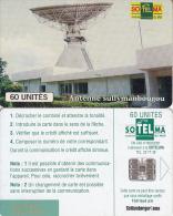 MALI(chip) - Earth Station/Satellite Dish(60 Units), Red BN, Used - Mali
