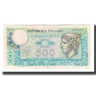 Billet, Italie, 500 Lire, 1974, 1974-02-14, KM:94, TTB+ - [ 2] 1946-… : République