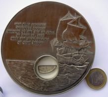 LIBERIA 50 $ 2001  COPPER ANTIQUE FINISH SAILING SHIP PRINCESS LOUISA WRECKED TO INDIA RAME BRUNITO GALEONE PRINCIPESSA - Liberia