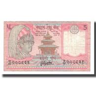 Billet, Népal, 5 Rupees, Undated (1987- ), KM:30a, TTB - Nepal