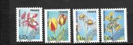 France: Préoblitérés Série De 2008 N°253/256 ** (sous Faciale) - 1989-....