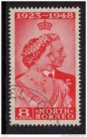 NORTH BORNEO 1948 Royal Silver Wedding Omnibus - Very Fine Used - VFU - 6B1060 - Borneo Del Nord (...-1963)