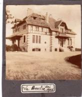 Photo Albuminée Sur Carton Le Chalet De La Boulie à Jouy En Josas Près Versailles (78) En 1904  Terrain De Golf - Places