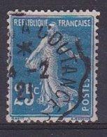 France Timbre Type Semeuse Fond Plein N° 140a° - 1906-38 Semeuse Camée