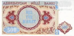 AZERBAIJAN P. 19b 500 M 1999 UNC - Azerbaïjan