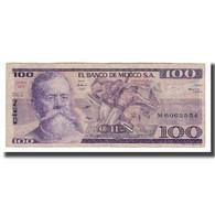 Billet, Mexique, 100 Pesos, 1982, 1982-03-25, KM:74c, TB - Messico