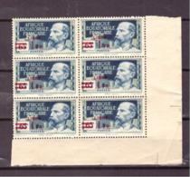 Afrique Equatoriale Française Libre. 9 Timbres N° 140 De 1940. Etat Moyen. Traces De Rousseur. Surcharge. 1Fr Sur 65 Cts - A.E.F. (1936-1958)