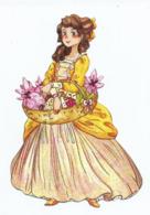 """MARQUE PAGE Détoué """" ELISABETH, Princesse A VERSAILLES """" ALBIN MICHELLE JEUNESSE - Marque-Pages"""