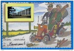 Carte Postale 78.  Maurecourt  Trés Beau Plan - Maurecourt