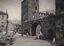 (038) AOSTA - PORTE PRAETORIANE - IN PRIMO PIANO LANCIA ARDEA - Aosta