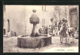 CPA Grèolieres, La Fontaine - Non Classés