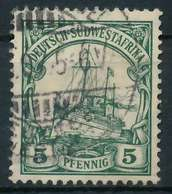 DEUTSCH-SÜDWESTAFRIKA DSWA Nr 25 Gestempelt X898E06 - Colony: German South West Africa