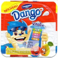 "Opercule Cover Yaourt Yogurt "" Danone "" Dango Pomme Poire Apple Pear Apfel Yoghurt Yoghourt Yahourt Yogourt - Milk Tops (Milk Lids)"