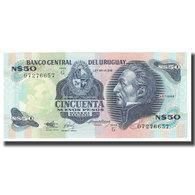 Billet, Uruguay, 50 Nuevos Pesos, Undated (1978-87), KM:61b, NEUF - Uruguay