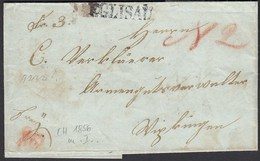 Schweiz 1856 Kleiner Brief Mit Inhalt Von EGLISAU L1  (23711 - Schweiz
