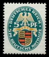 DEUTSCHES REICH 1926 Nr 398Y Ungebraucht X89C782 - Alemania