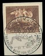 DEUTSCHES REICH 1941 Nr 780 Zentrisch Gestempelt Briefstück X8B023A - Deutschland