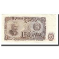 Billet, Bulgarie, 50 Leva, 1951, KM:85a, NEUF - Bulgarie