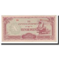 Billet, Birmanie, 10 Rupees, Undated (1942-44), KM:16b, NEUF - Myanmar
