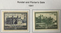 POLAND - MH* -  1941 - # N74/75 - 1939-44: 2. WK