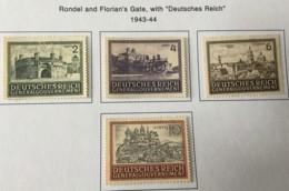 POLAND - MH* -  1943-1944 - # N100/103 - 1939-44: 2. WK
