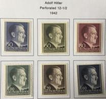 POLAND - MH* -  1942 - # N91/96 - 1939-44: 2. WK