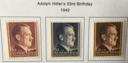 POLAND - MH* -  1943 - # NB24/26 - 1939-44: 2. WK