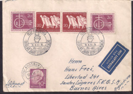Deustche Bundespost - 1955 - Brief - 1000 Jahre Lechfeld Schlacht - [7] République Fédérale