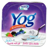 "Opercule Cover Yaourt Yogurt "" Hodna "" Yog Forest Fruits Yoghurt Yoghourt Yahourt Yogourt - Milk Tops (Milk Lids)"