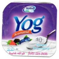 "Opercule Cover Yaourt Yogurt "" Hodna "" Yog Forest Fruits Yoghurt Yoghourt Yahourt Yogourt - Opercules De Lait"