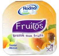 "Opercule Cover Yaourt Yogurt "" Hodna "" Fruitos Abricot Apricot Yoghurt Yoghourt Yahourt Yogourt - Milk Tops (Milk Lids)"