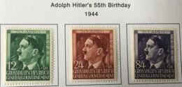 POLAND - MH* -  1942 - # NB33/35 - 1939-44: 2. WK