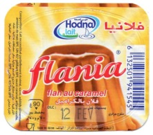 "Opercule Cover Yaourt Yogurt "" Hodna "" Flania Caramel Yoghurt Yoghourt Yahourt Yogourt - Milk Tops (Milk Lids)"