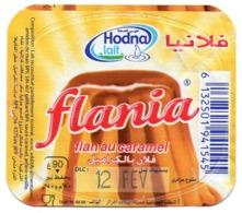 "Opercule Cover Yaourt Yogurt "" Hodna "" Flania Caramel Yoghurt Yoghourt Yahourt Yogourt - Opercules De Lait"