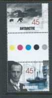 Australian Antarctic Territory 1999 Mawson Huts 45c Gutter Pair MNH - Unused Stamps