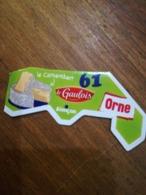Magnet Le Gaulois Nouveau Département 61 ORNE. ALENÇON Fromage Le Camembert - Magnets
