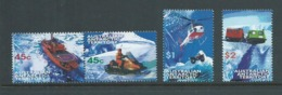 Australian Antarctic Territory 1998 Transport Set 4 MNH - Unused Stamps