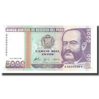 Billet, Pérou, 5000 Intis, 1988, 1988-06-28, KM:138, NEUF - Peru