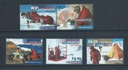 Australian Antarctic Territory 1997 ANARE Research Set 5 MNH - Unused Stamps