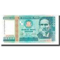Billet, Pérou, 10,000 Intis, 1988, 1988-06-28, KM:140, NEUF - Peru