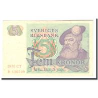 Billet, Suède, 5 Kronor, 1978, 1978, KM:51d, TB+ - Schweden