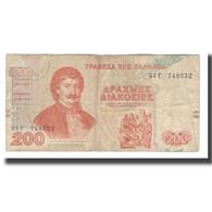 Billet, Grèce, 200 Drachmaes, 1996, 1996-09-02, KM:204a, TB+ - Griechenland